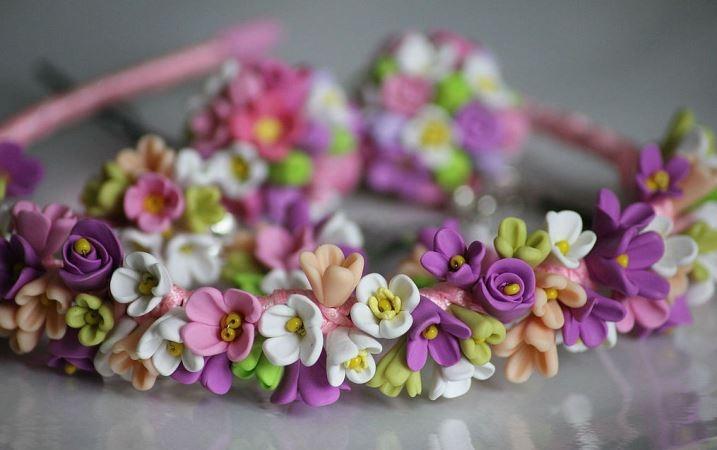 Ободки из цветов своими руками: как сделать?