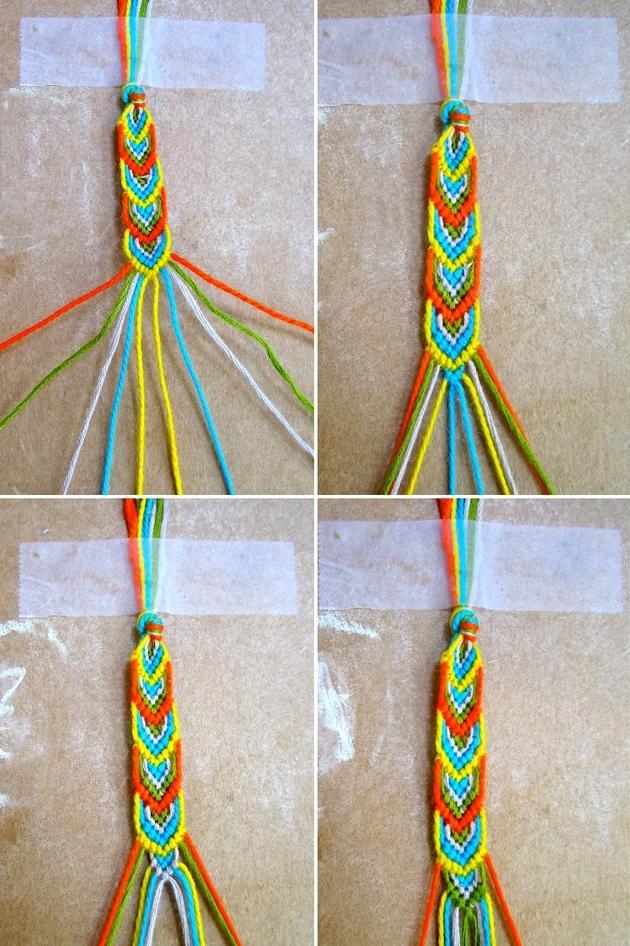 Как можно сделать браслет фенечка