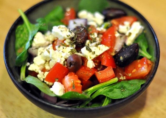 Салат греческий с салатом рецепт пошагово 135
