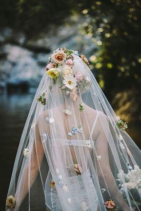 Сшить фату невесты своими руками
