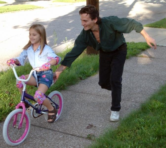 прекрасная как учиться кататься на велосипеде домой рано