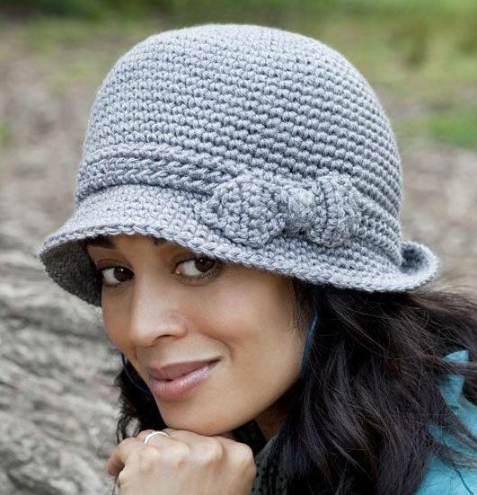 Шляпа крючком: простая схема