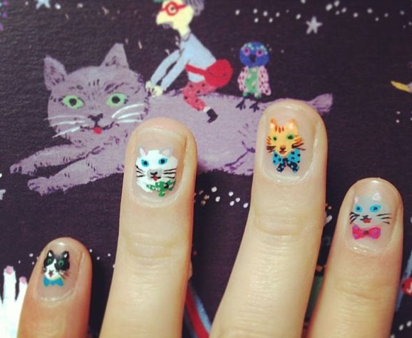 children's manicure