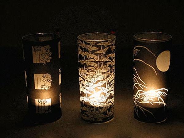 Декоративная лампа своими руками