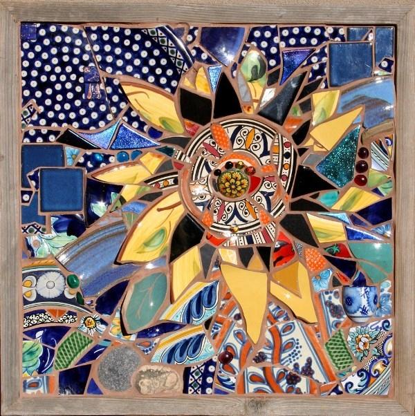 Из чего можно сделать мозаику своими руками