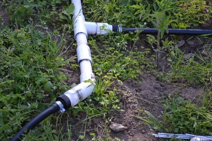 Системы полива огорода