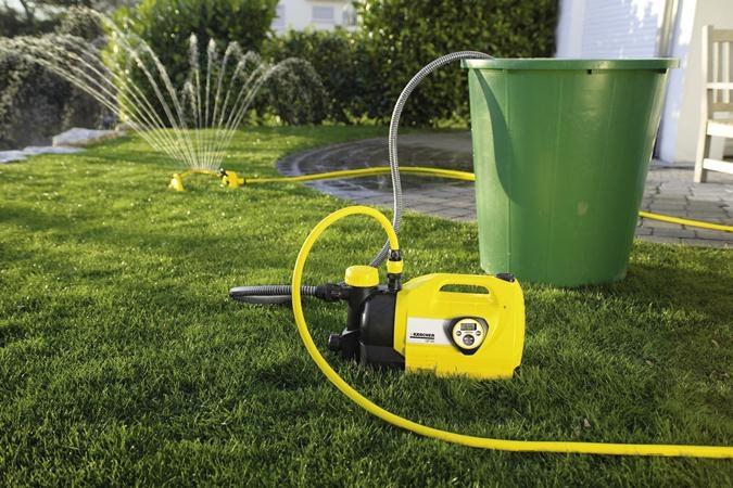 Водяной насос для полива огорода