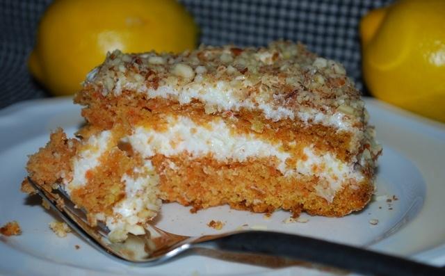морковный торт в мультиварке рецепт