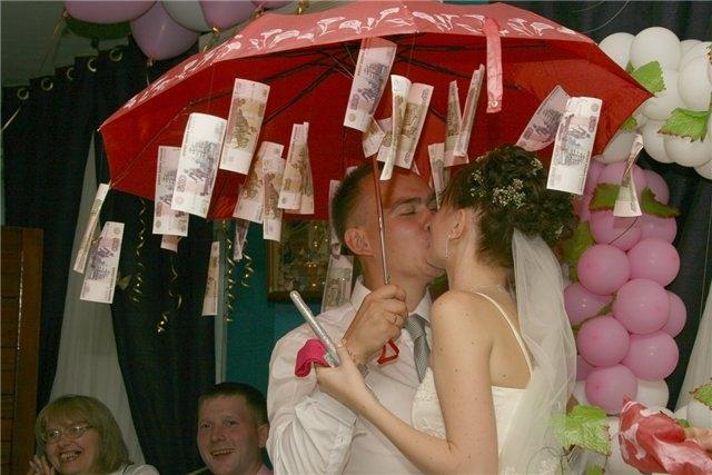 Сколько подарить денег на свадьбу