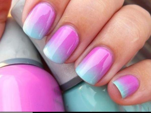 Сочетание цветов на ногтях
