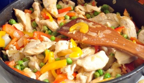 курица тушеная в мультиварке с овощами рецепты