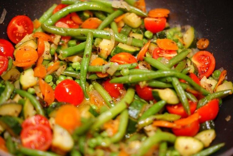 Рецепт тушеные овощи для похудения в мультиварке