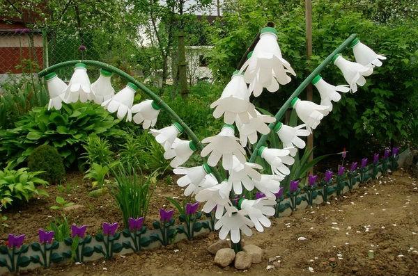 Видео цветы из пластиковых бутылок своими руками пошагово