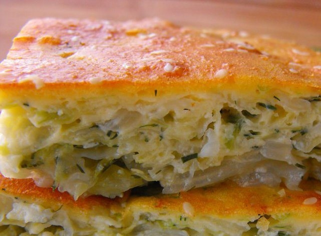 пирог с капустой вкуснейший