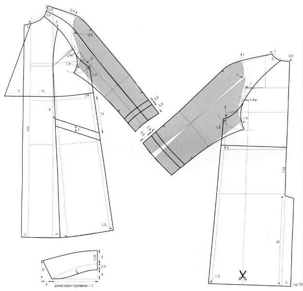 Как сшить пальто по выкройке?