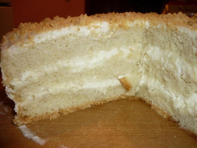 Бисквит со сметаной рецепт пошагово с