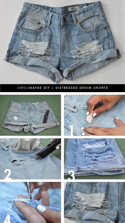 Как сделать шорты модные