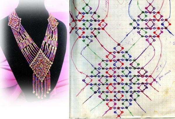Ожерелья и схемы к ним