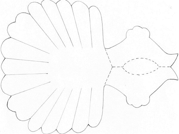 Как сделать объемного голубя из бумаги фото 923