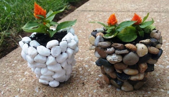 Из стеклянных камушков своими руками фото фото 86
