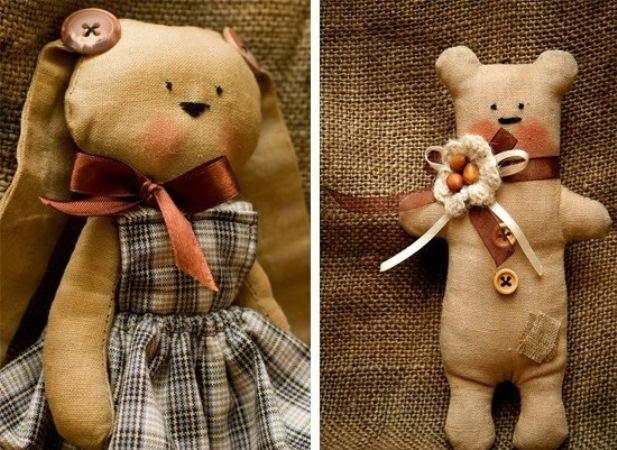 История мягкой игрушки своими руками