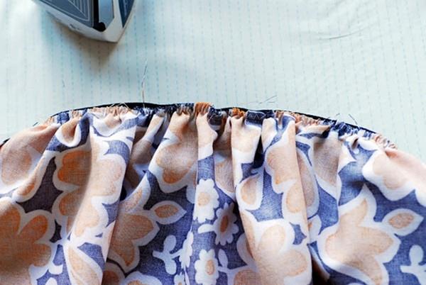 Как пришить резинку к юбке?