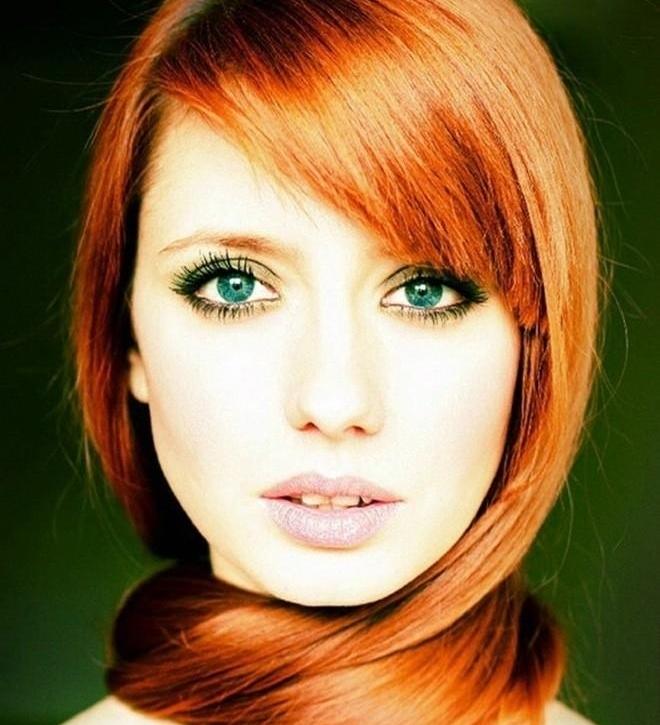 Цвет волос для зеленых глаз: как подобрать?