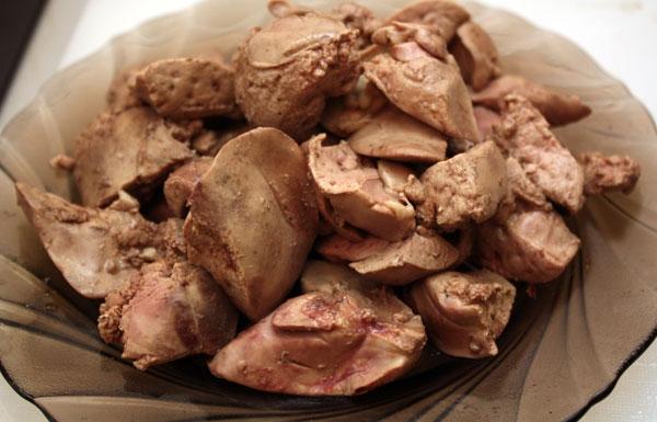 Картинки по запросу куриная печень