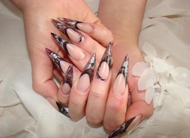 Фото острых ногтей аквариум
