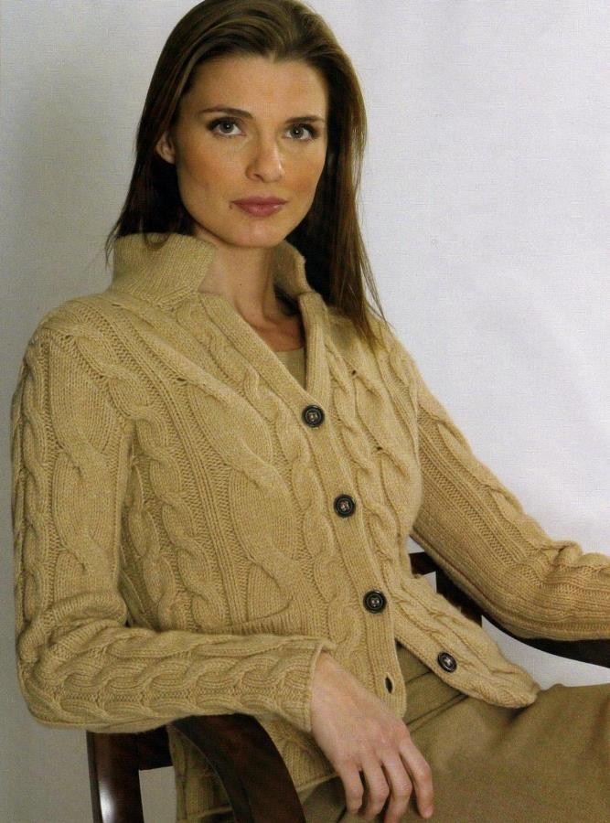 Вязание спицами кофточки со схемами. вязаные спицами для женщин. . Пул