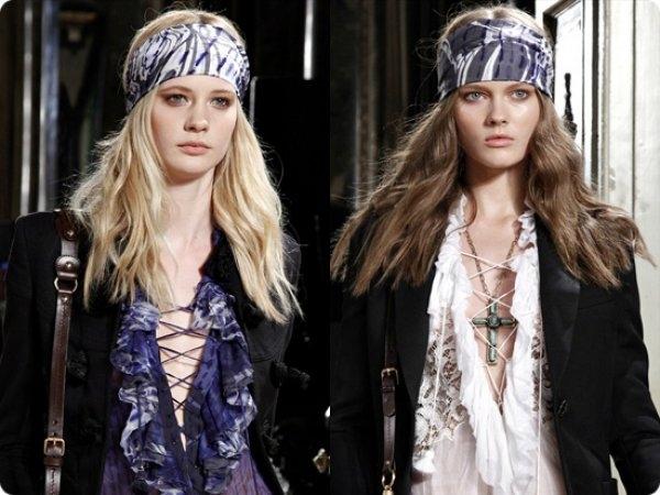 Как правильно носить бандану на голове?