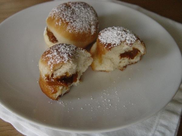 Пончики на сгущенке рецепт с фото пошагово