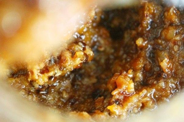 Ореховая начинка для вафельных трубочек