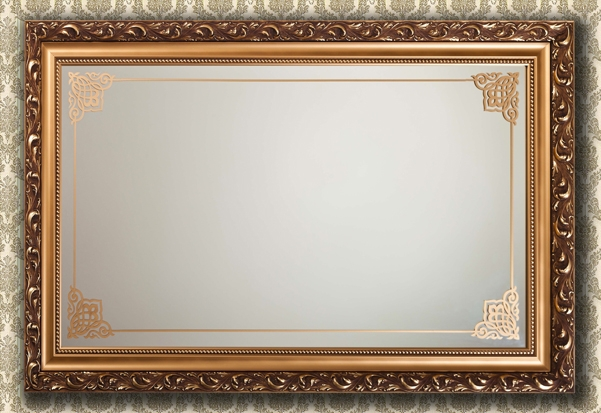 Рамка для зеркало из потолочного плинтуса своими руками 81