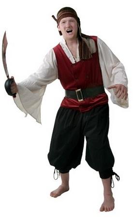 Костюм пирата с