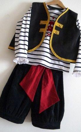 костюм пирата для мальчика своими руками