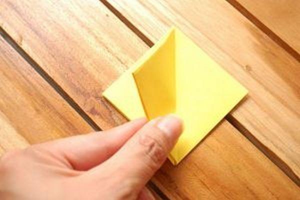 Оригами тюльпан схема