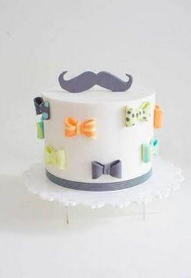 Идеи тортов для мужчин : усы