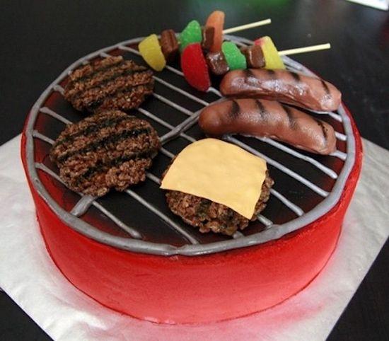 Идеи тортов для мужчин: пикник