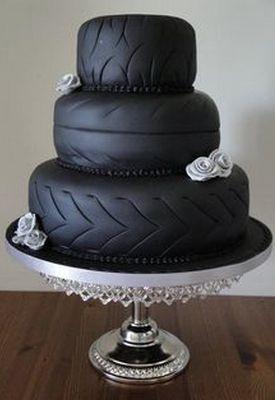 Идеи тортов для мужчин: колеса