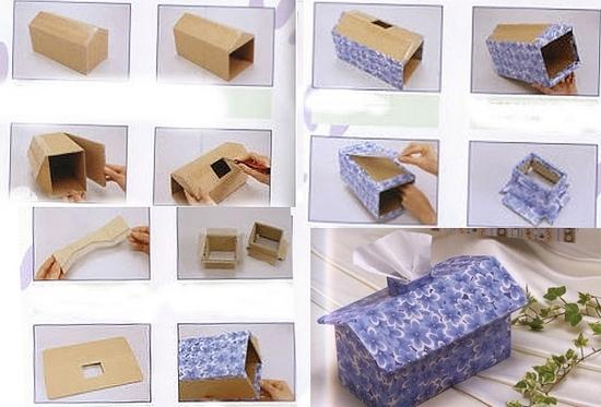 Мастер-класс по картонажу: шкатулка