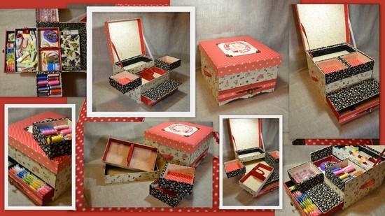 Как украсить коробочку для мелочей своими руками
