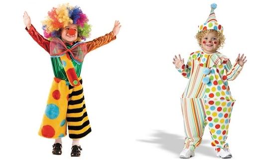 Костюм клоуна своими руками: фото и советы