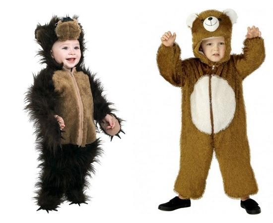 Выкройка костюма белого медведя своими руками фото 10