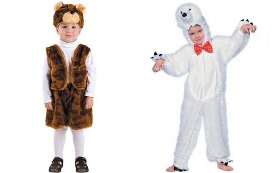 Новогодний костюм медведя для мальчика
