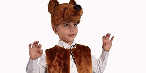 Костюм медведя своими руками на мальчика