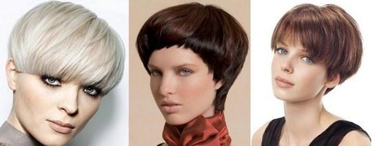 Стрижка «шапка волос»