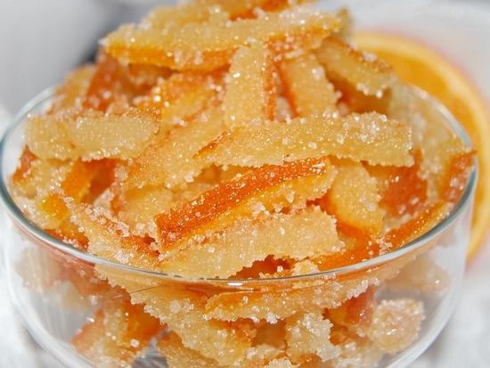 Апельсиновые корки в сахаре рецепт