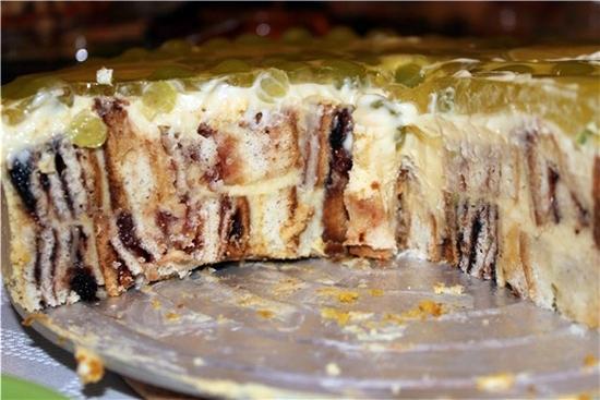Торт пень трухлявый классический рецепт