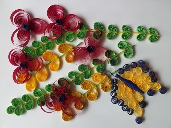 Квиллинг цветов: основные способы работы и мастер класс, LS